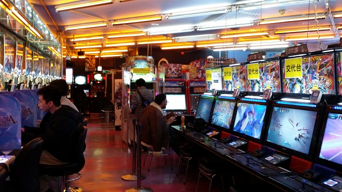 arcades in akihabara tokyo