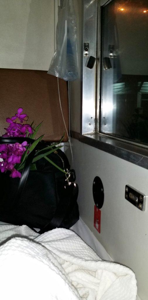 night on the overnight train