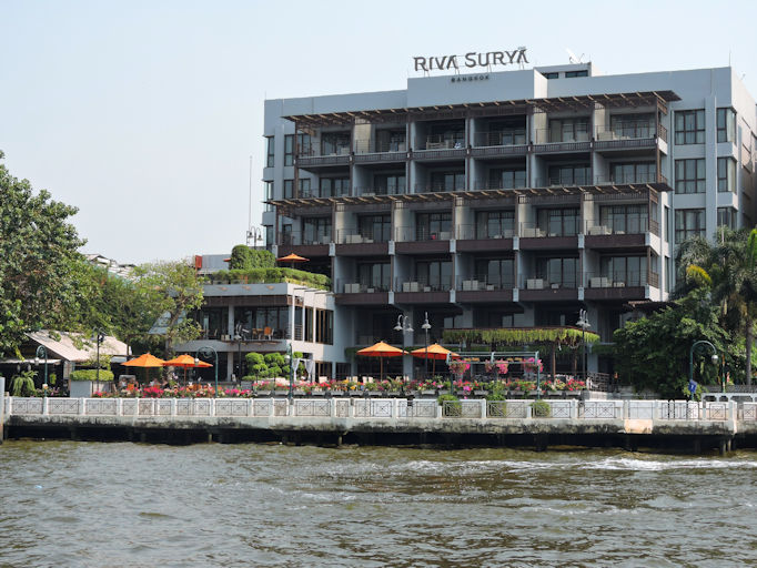 Riva Surya from river