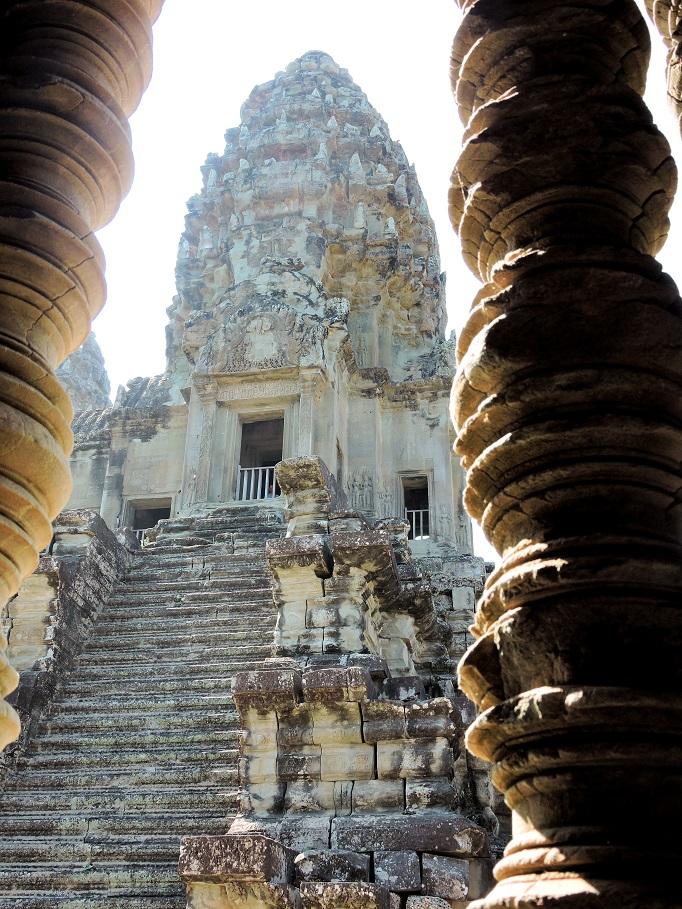 Angkor Wat's central santcuary, Bakan