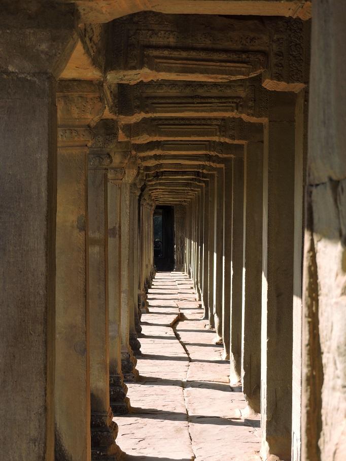 pillars and corridors and shadows