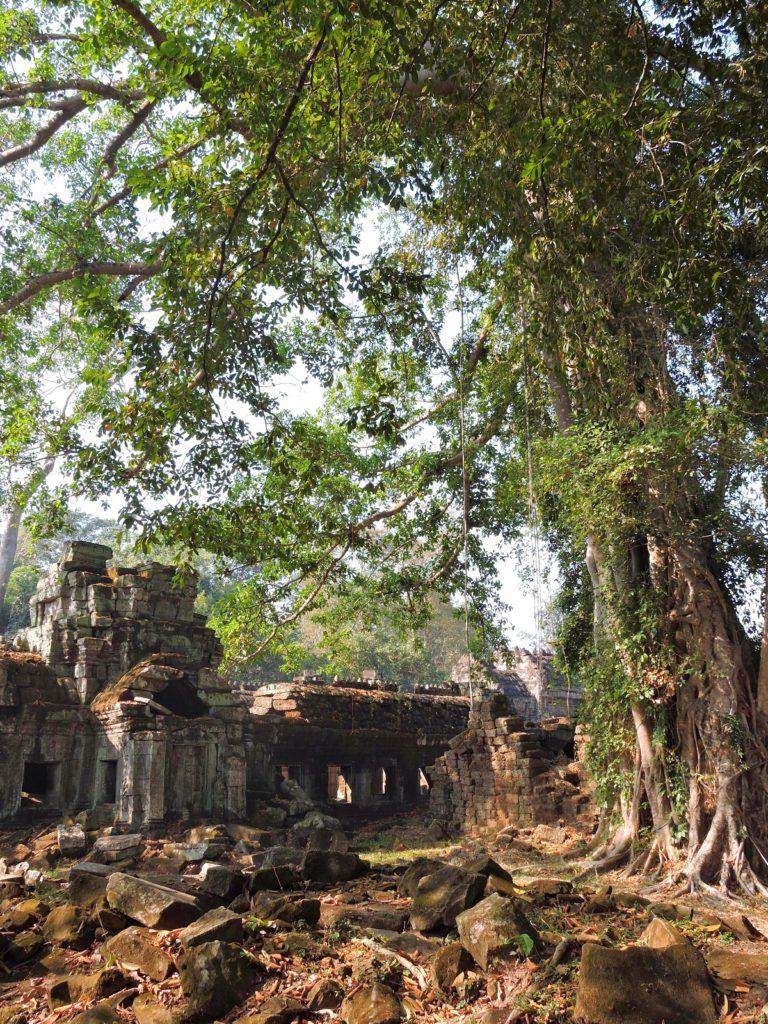 Preah Khan area