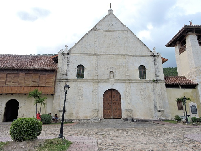 front view of Boljoon church