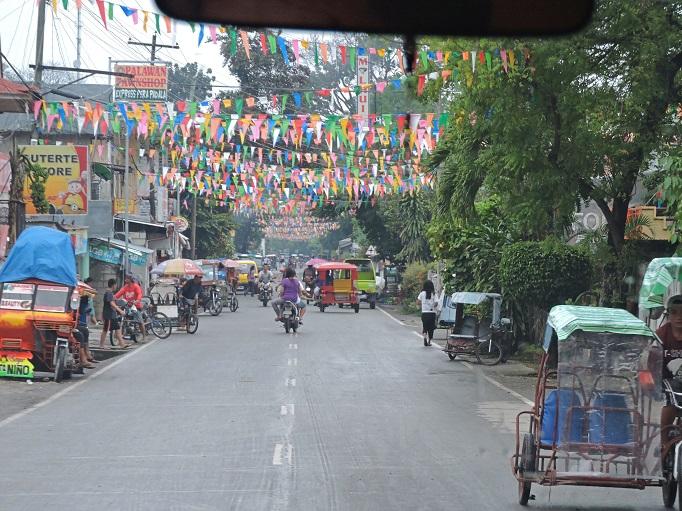 main road or highway on Cebu Island