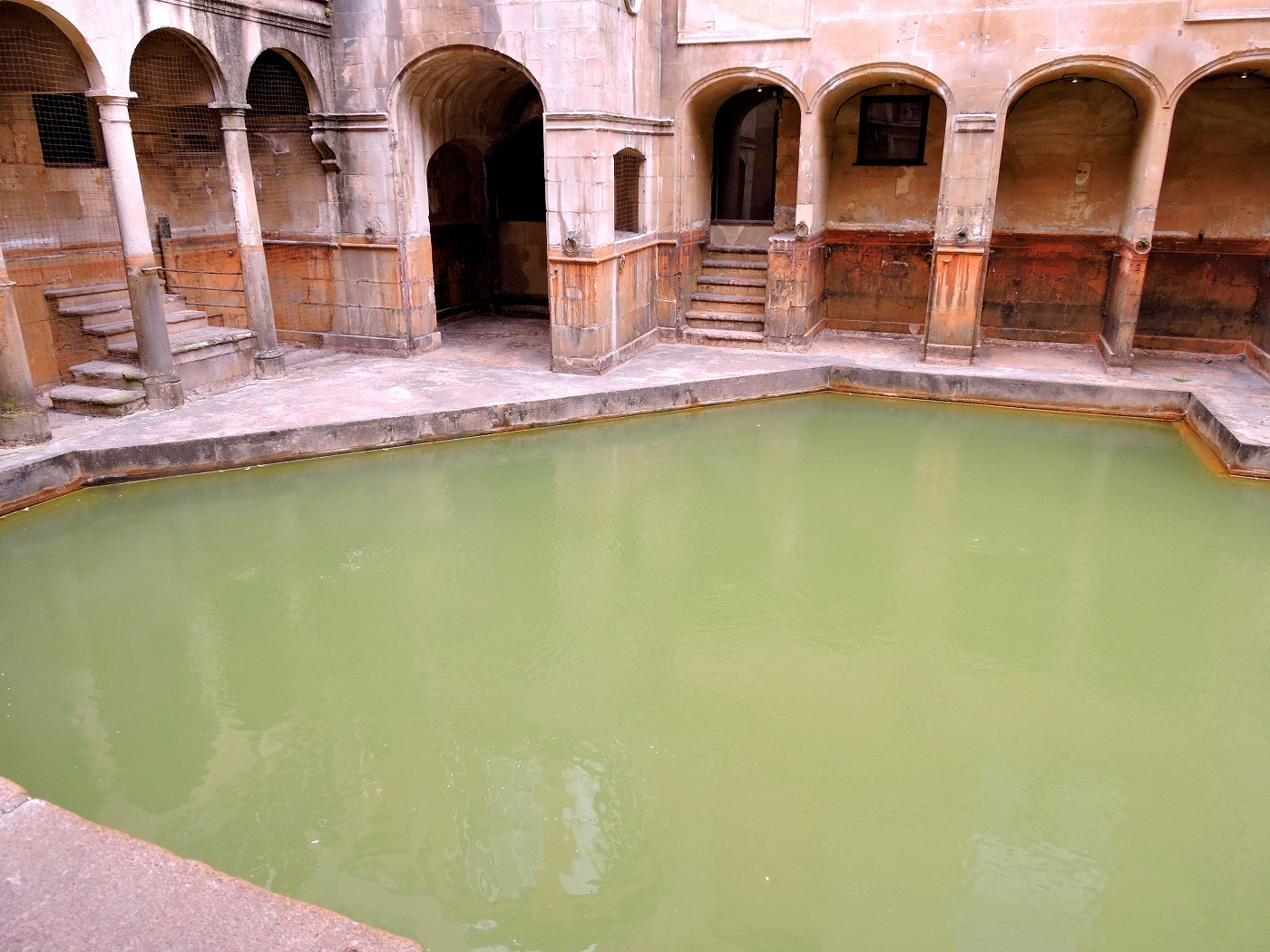 the sacred spring and King's bath