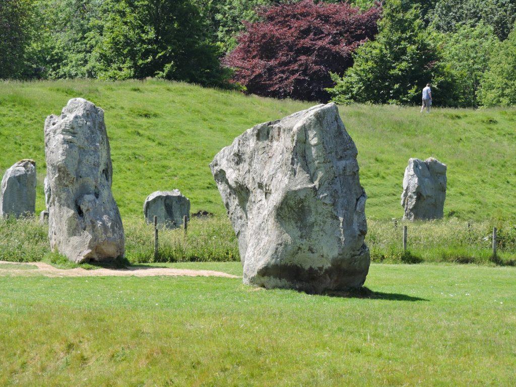 henge and stones at Avebury