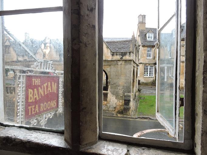 view from room at Bantam Tea Rooms