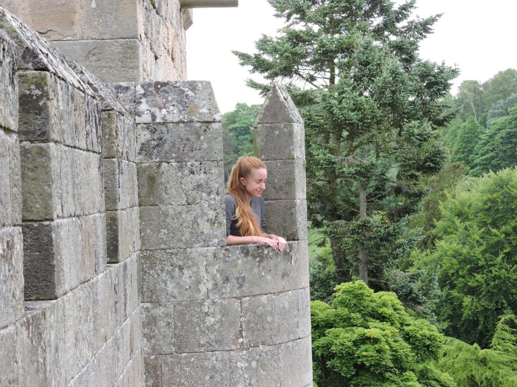 me on castle tower