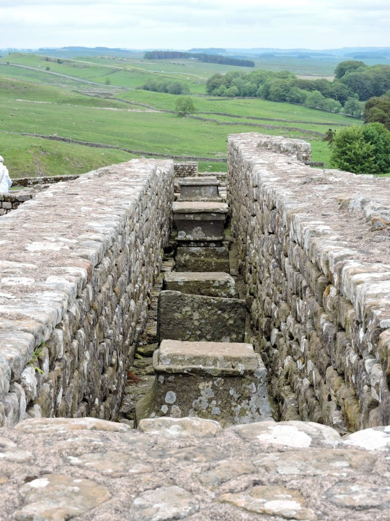 roman ruins at housesteads